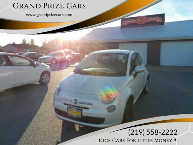 2013 FIAT 500 for sale at Grand Prize Cars in Cedar Lake IN