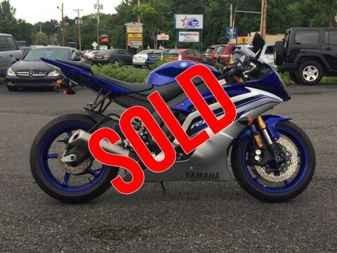2016 Yamaha YZF-R6 Blue/Silver for sale at All Star Auto  Cycle in Marlborough MA
