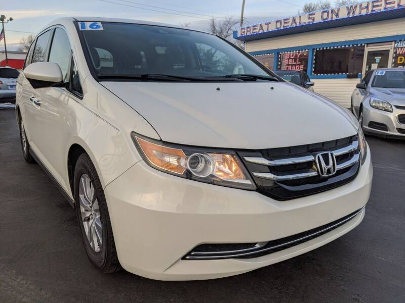 2016 Honda Odyssey for sale at GREAT DEALS ON WHEELS in Michigan City IN