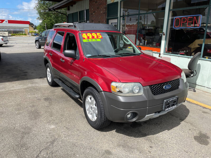 2005 Ford Escape for sale at Low Auto Sales in Sedro Woolley WA