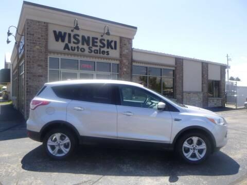 2013 Ford Escape for sale at Wisneski Auto Sales, Inc. in Green Bay WI