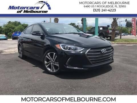 2017 Hyundai Elantra for sale at Motorcars of Melbourne in Rockledge FL