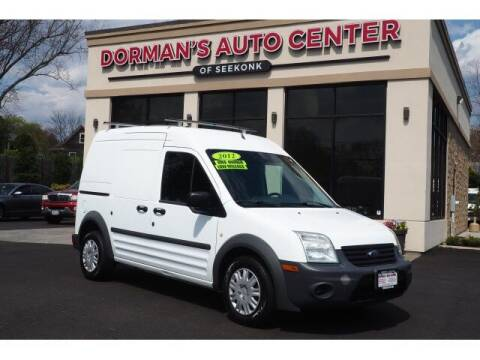 2012 Ford Transit Connect for sale at DORMANS AUTO CENTER OF SEEKONK in Seekonk MA