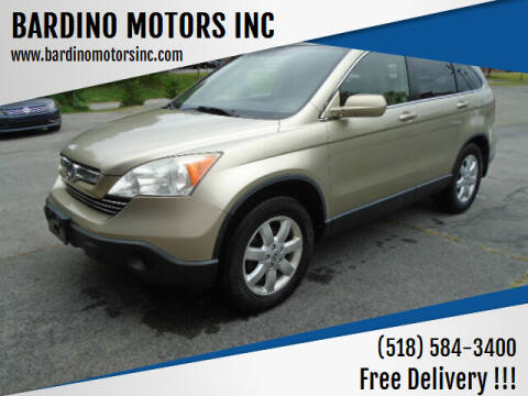 2007 Honda CR-V for sale at BARDINO MOTORS INC in Saratoga Springs NY