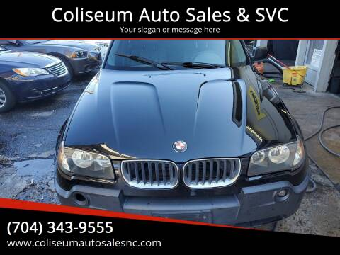 2004 BMW X3 for sale at Coliseum Auto Sales & SVC in Charlotte NC
