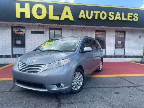 2011 Toyota Sienna for sale at HOLA AUTO SALES CHAMBLEE- BUY HERE PAY HERE - in Atlanta GA
