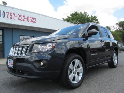 2014 Jeep Compass for sale at Trimax Auto Group in Norfolk VA
