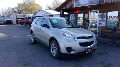 2014 Chevrolet Equinox for sale at LEE AUTO SALES in McAlester OK