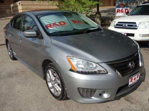 2014 Nissan Sentra for sale at R & D Motors in Austin TX