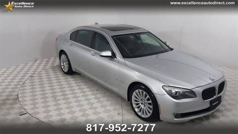 2012 BMW 7 Series for sale at Excellence Auto Direct in Euless TX