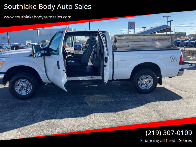 2013 Ford F-250 Super Duty 4x4 XLT 4dr SuperCab 6.8 ft. SB Pickup - Merrillville IN