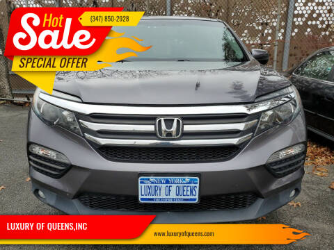 2017 Honda Pilot for sale at LUXURY OF QUEENS,INC in Long Island City NY