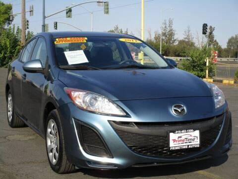 2011 Mazda MAZDA3 for sale at PRIMETIME AUTOS in Sacramento CA