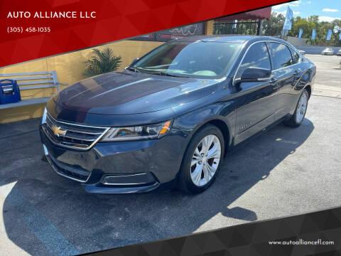 2014 Chevrolet Impala for sale at AUTO ALLIANCE LLC in Miami FL