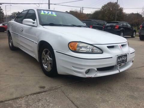 2002 Pontiac Grand Am for sale at AutoPros - Waterloo in Waterloo IA