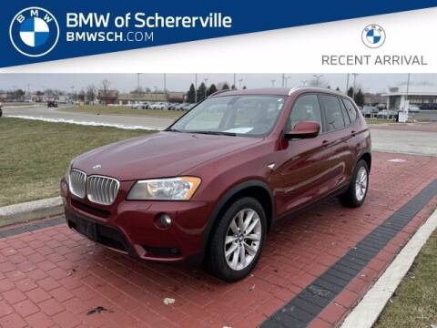 2014 BMW X3 for sale at BMW of Schererville in Shererville IN