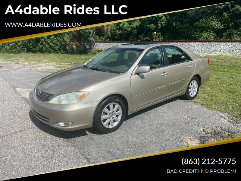 2004 Toyota Camry for sale at A4dable Rides LLC in Haines City FL