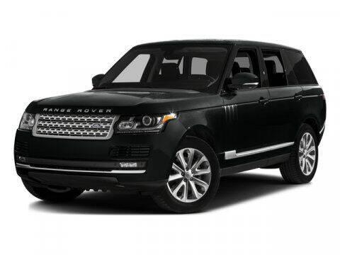 2016 Land Rover Range Rover for sale at DeluxeNJ.com in Linden NJ