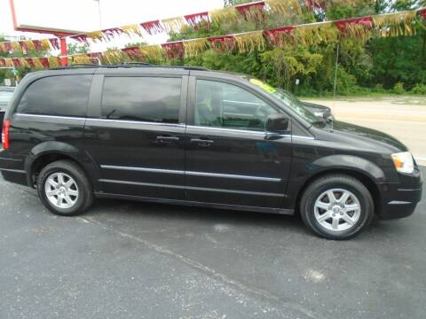 2010 Chrysler Town and Country for sale at River City Auto Sales in Cottage Hills IL