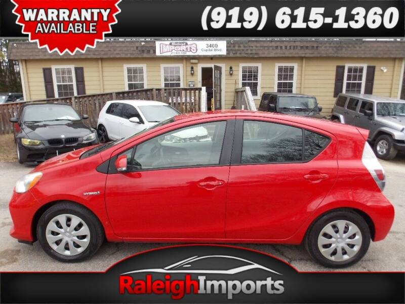 2013 Toyota Prius c for sale at Raleigh Imports in Raleigh NC