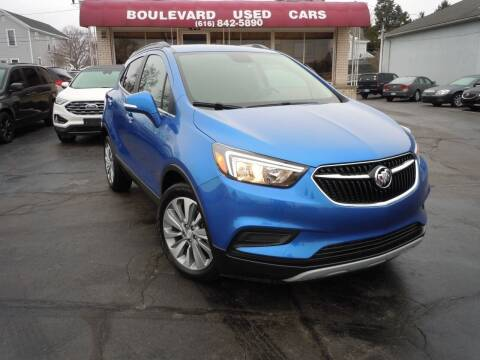 2018 Buick Encore for sale at Boulevard Used Cars in Grand Haven MI