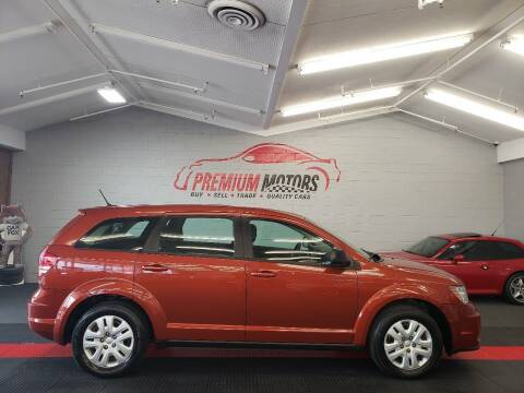 2013 Dodge Journey for sale at Premium Motors in Villa Park IL