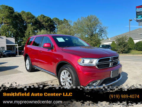 2015 Dodge Durango for sale at Smithfield Auto Center LLC in Smithfield NC