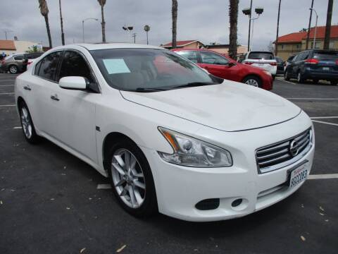 2014 Nissan Maxima for sale at F & A Car Sales Inc in Ontario CA