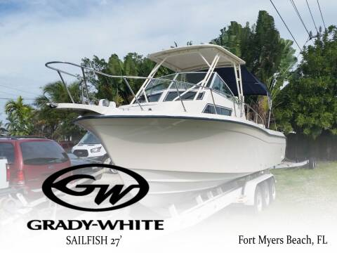 1994 Grady-White Sailfish 27 for sale at Auto Quest USA INC in Fort Myers Beach FL