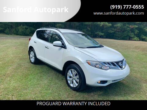 2013 Nissan Murano for sale at Sanford Autopark in Sanford NC
