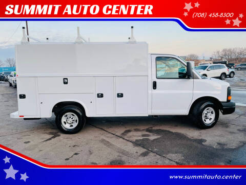 2014 Chevrolet Express Cutaway for sale at SUMMIT AUTO CENTER in Summit IL