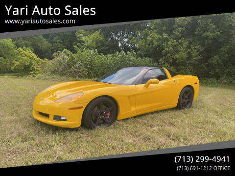 2005 Chevrolet Corvette for sale at Yari Auto Sales in Houston TX