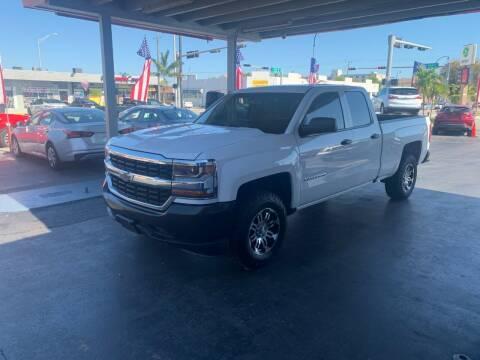 2018 Chevrolet Silverado 1500 for sale at American Auto Sales in Hialeah FL