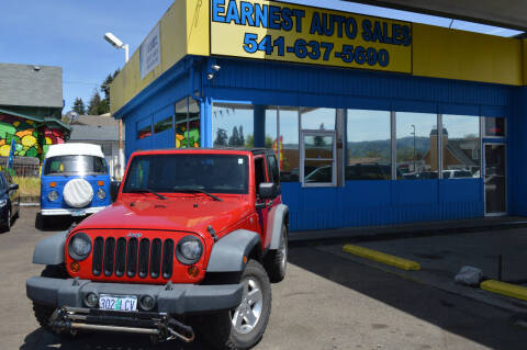 2010 Jeep Wrangler for sale at Earnest Auto Sales in Roseburg OR