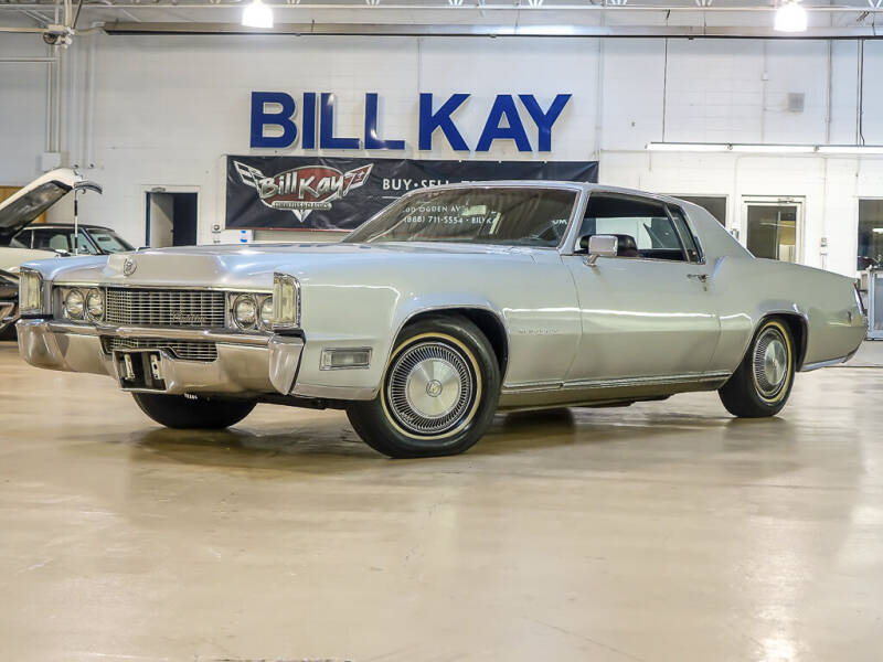 1969 Cadillac Eldorado for sale at Bill Kay Corvette's and Classic's in Downers Grove IL