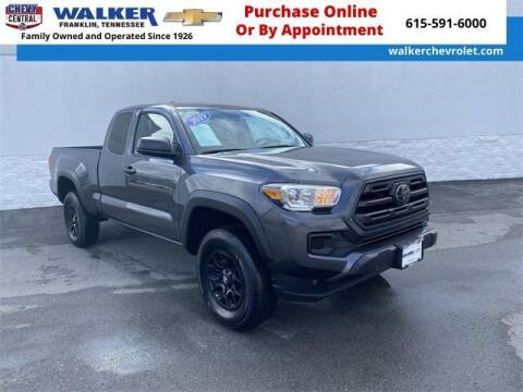 2019 Toyota Tacoma for sale at WALKER CHEVROLET in Franklin TN