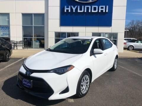 2017 Toyota Corolla for sale at Cj king of car loans/JJ's Best Auto Sales in Troy MI
