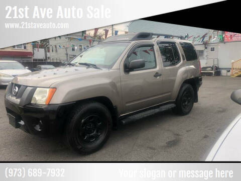 2007 Nissan Xterra for sale at 21st Ave Auto Sale in Paterson NJ