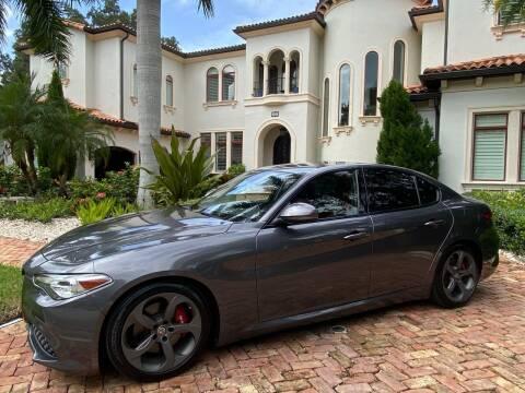2018 Alfa Romeo Giulia for sale at Mirabella Motors in Tampa FL