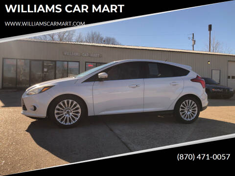 2012 Ford Focus for sale at WILLIAMS CAR MART in Gassville AR