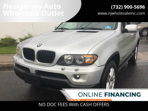 2006 BMW X5 for sale at New Jersey Auto Wholesale Outlet in Union Beach NJ