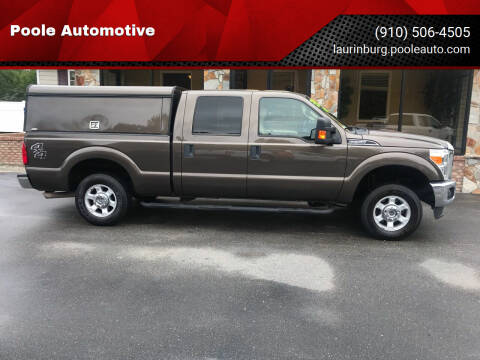 2016 Ford F-250 Super Duty for sale at Poole Automotive in Laurinburg NC