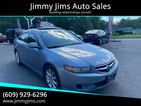2008 Acura TSX for sale at Jimmy Jims Auto Sales in Tabernacle NJ
