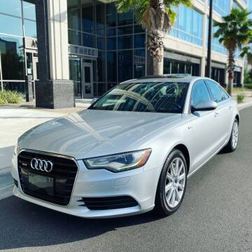 2014 Audi A6 for sale at CHECK AUTO, INC. in Tampa FL