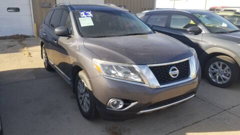 2013 Nissan Pathfinder for sale at Buena Vista Auto Sales in Storm Lake IA