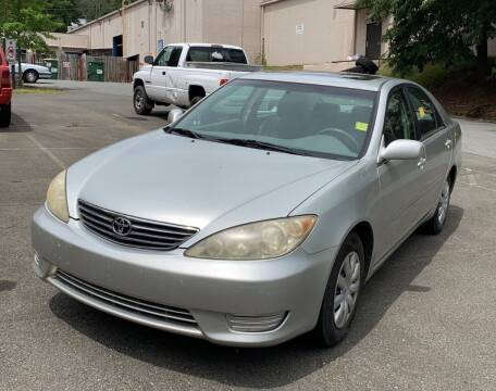 2005 Toyota Camry for sale at BWC Automotive in Kennesaw GA