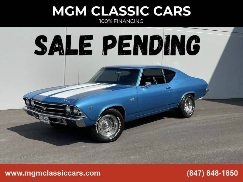 1969 Chevrolet Chevelle for sale at MGM CLASSIC CARS in Addison IL