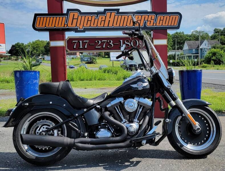 2012 Harley-Davidson FatBoy Low 103 for sale at Haldeman Auto in Lebanon PA