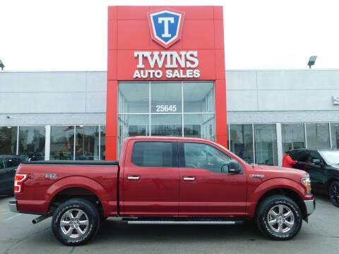 2018 Ford F-150 for sale at Twins Auto Sales Inc Redford 1 in Redford MI