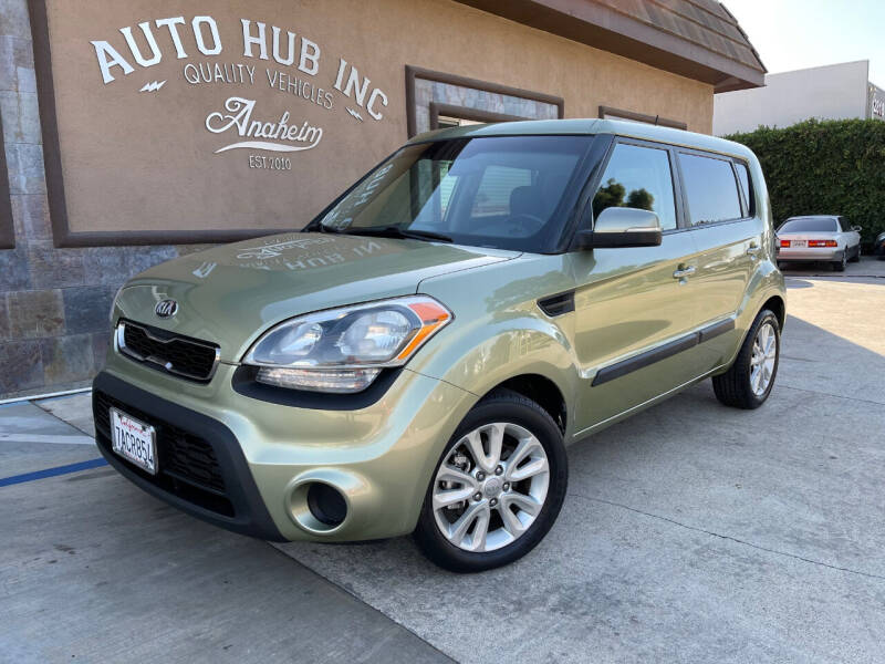 2013 Kia Soul for sale at Auto Hub, Inc. in Anaheim CA